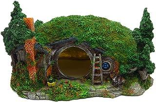 亀隠れ、爬虫類シェルター、繁殖、加湿、生息地装飾