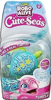 ROBO ALIVE Cute Seas Tiny Turtle Blue Green SHELBY Swim Twirl Glide
