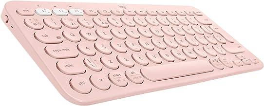 Tastiera pc rosa logitech k380 tastiera, layout italiano qwerty, rosa 920-009865