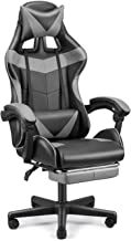 FERGHANA PC Gaming Chair,Racing Chair for Gaming,Computer Chair,E-Sports Chair,Ergonomic Office Chair with Retractable Foo...