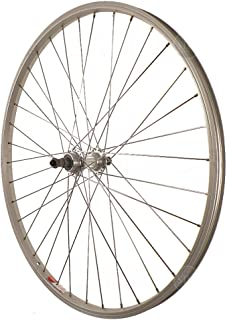Sta Tru Silver Alloy ATB 6-7 Speed Freewheel Hub Quick Release Rear Wheel (26X1.5-Inch)