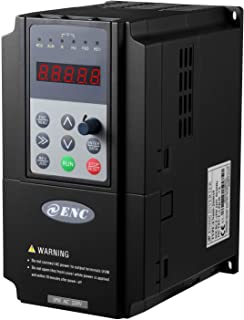 Litorange Vector & PG Torque Control VFD 1 Single Phase 220V 3.7KW 5HP Variable Frequency Drive CNC VFD Motor Drive Inverter Converter for Spindle Motor Speed Control.
