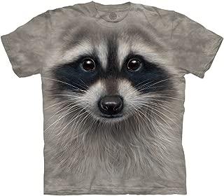raccoon face t shirt
