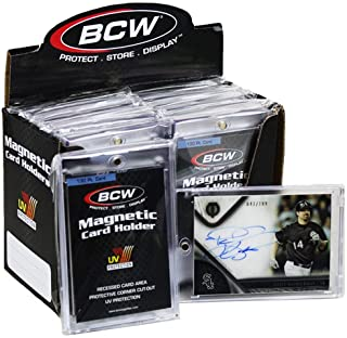 Box of 14 BCW Magnetic Card Holders - 130 Pt.