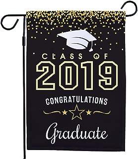 GiftsForYouNow Class of 2019 Graduation Garden Flag