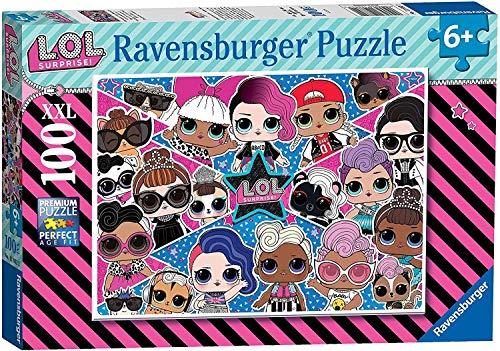 Ravensburger-LOL Surprise Puzzle L.O.L, 100 piezas XXL, colo