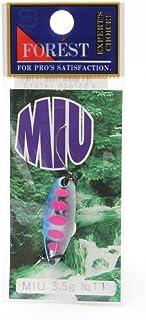 フォレスト(FOREST) ルアー MIU(ミュー)ネイティブシリーズ 3.5g №11 スプーン