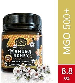 MYM Manuka Honey Produce In New Zealand 100% Pure Halal Certified (MGO400+, MGO500+ &MGO800+) (MGO500+)