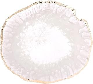 healifty tavolozza di palette ovale acquerello painting Palette con buco Grigio Bianco