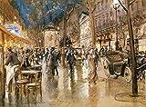 lona de pintura al óleo Parisino Boullers, de Stein George