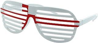 taille unique Disponibles en drapeaux de diff/érents pays Lunettes de fan de lAllemagne Alsino avec drapeau