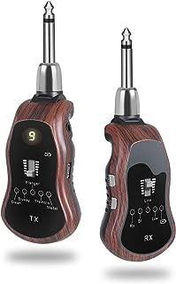 Best wireless audio transmitter guitar Reviews
