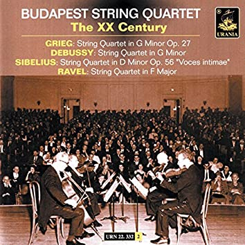Budapest String Quartet: The XX Century