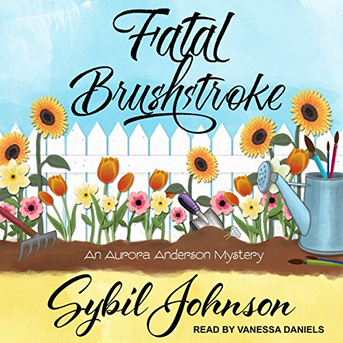 Fatal Brushstroke audiobook cover art