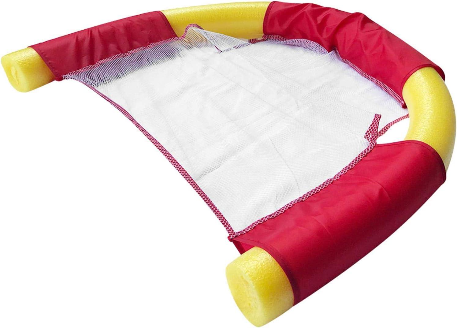 Grust Sillas de natación portátiles para piscina, asiento flotante para adultos, 150 x 7,5 cm