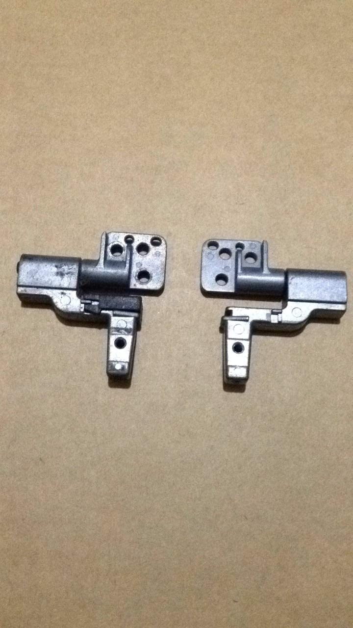Lysee LCD Hinges - Laptop LCD Screen Hinges Bracket For Dell Latitude D820 D830 D531 Precision M4300 M6500 PP04X Left & Right 1 Pair
