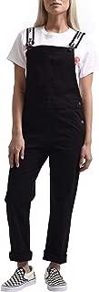 Dickies Girl Junior's Bib Overalls, Black