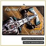 gasoline.gallery Formel 1 Kalender DINA2 extra groß Foto Wandkalender 2020 12 Monate inkl. extra Jahreskalender / Jahresübersicht