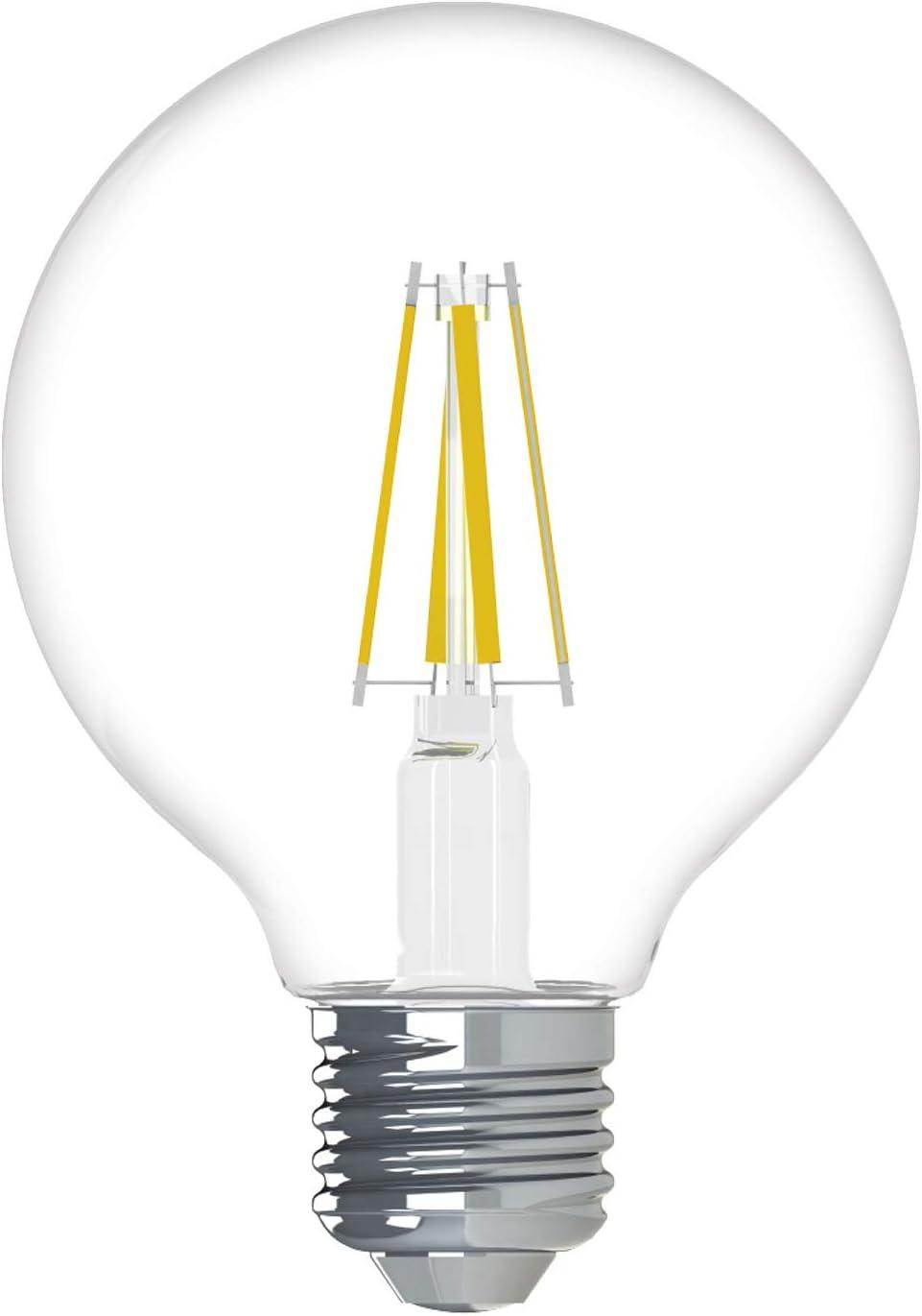 GE Lighting Relax Regular store HD Globe Dimmable LED Bulbs Max 51% OFF Light Rep Watt 60