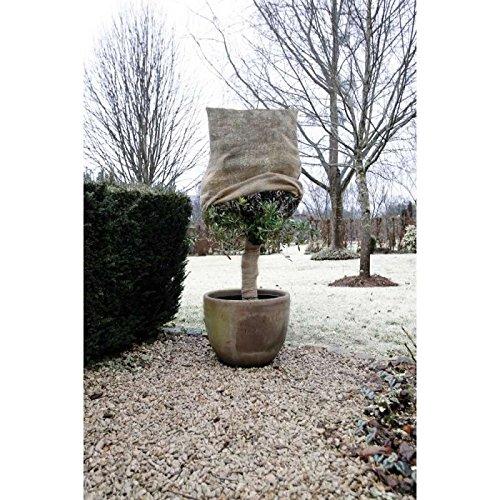 Nature Housse d'hivernage en Toile de Jute tissée 230gr/m² Ø75x100cm
