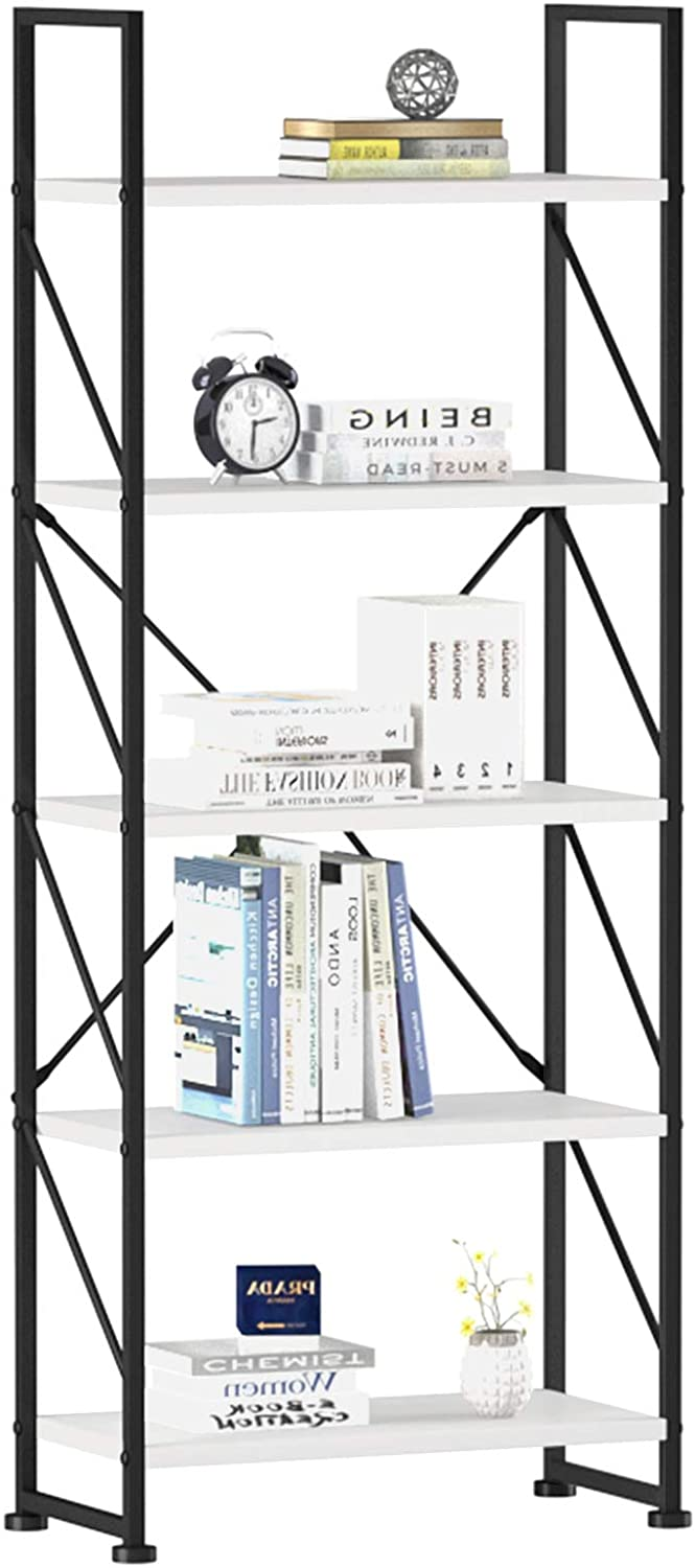 YITAHOME 5 Tiers Bookshelf Book Classically お得セット Modern R ギフト
