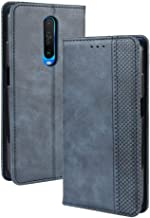LUSHENG Xiaomi Pocophone F1 Case,Ultra-Thin Wallet Leather Flip Case with Credit Card Pocket Stand Function TPU Soft Inner...