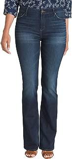 Women's Bootcut Dark Wash Denim Jeans