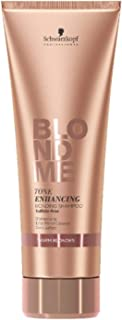 BLONDME Tone Enhancing Bonding Shampoo for Warm Blondes, 8.44-Ounce