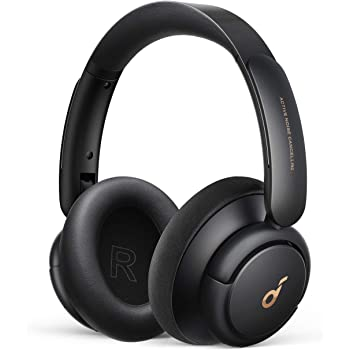Soundcore by Anker Life Q30 Hybrid Active Noise Cancelling Headphones with Multiple Modes, Hi-Res Sound, 40H Playtime, Fast Charge, Soft Earcups, Bluetooth Headphones, Travel