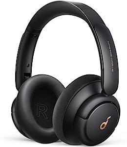 سماعات بلوتوث لاسلكية بخاصية الغاء الضوضاء ساوندكور لايف Q30 من انكر A3028H11 - اسود