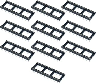 Triangle-Box - 10 x 40 Pin DIP/DIL Turned Pin IC Socket Connector 0.6inch Pitch ping