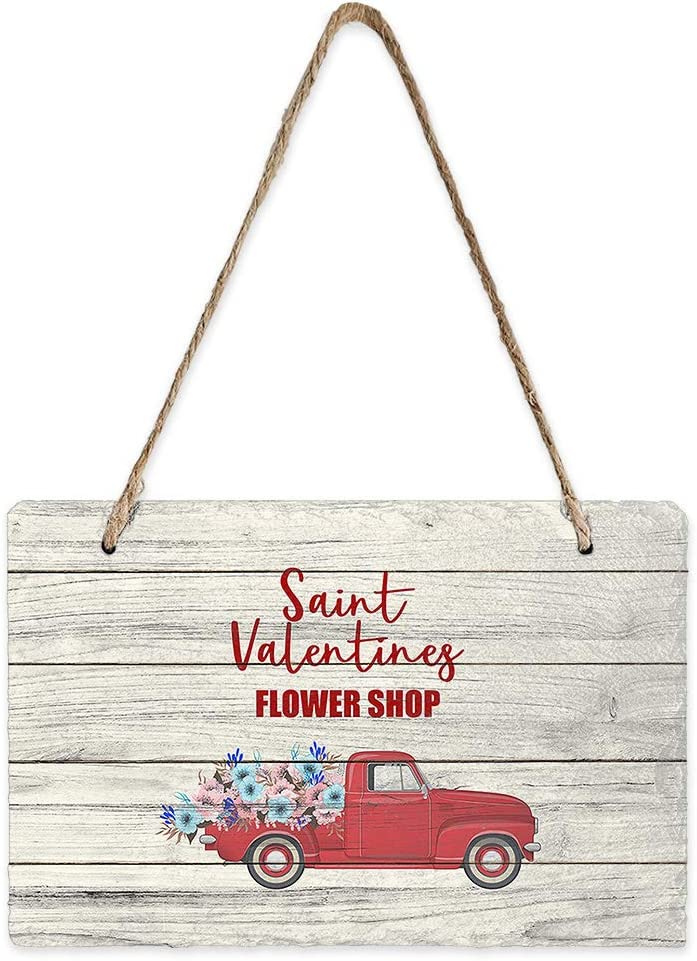 Libaoge Mini Hanging Department store Sign Rectangle Wall Double Pediments Dedication Sided