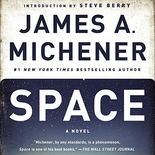 Space audiobook cover art