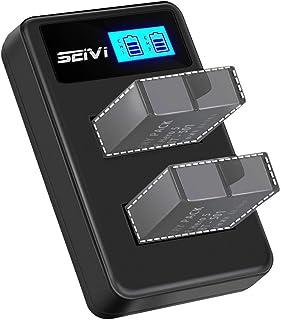 GoPro バッテリー充電器 HERO5 HERO6 HERO7 バッテリーチャージャー USB充電式 2個同時充電 バッテリー残量表示付き 保護機能搭載