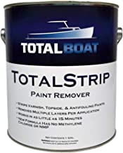 TotalBoat TotalStrip Fast-Acting Heavy Duty Gel Paint and Varnish Remover | No Methylene Chloride or NMP (1 Gallon)
