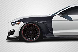 Carbon Creations Replacement for 2015-2017 Ford Mustang GT350 Look Fenders - 2 Piece
