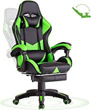 Advwin Gaming Chair Racing Office Computer Ergonomic Video Game Chair, Backrest and Seat Height Adjustable Swivel Recliner...