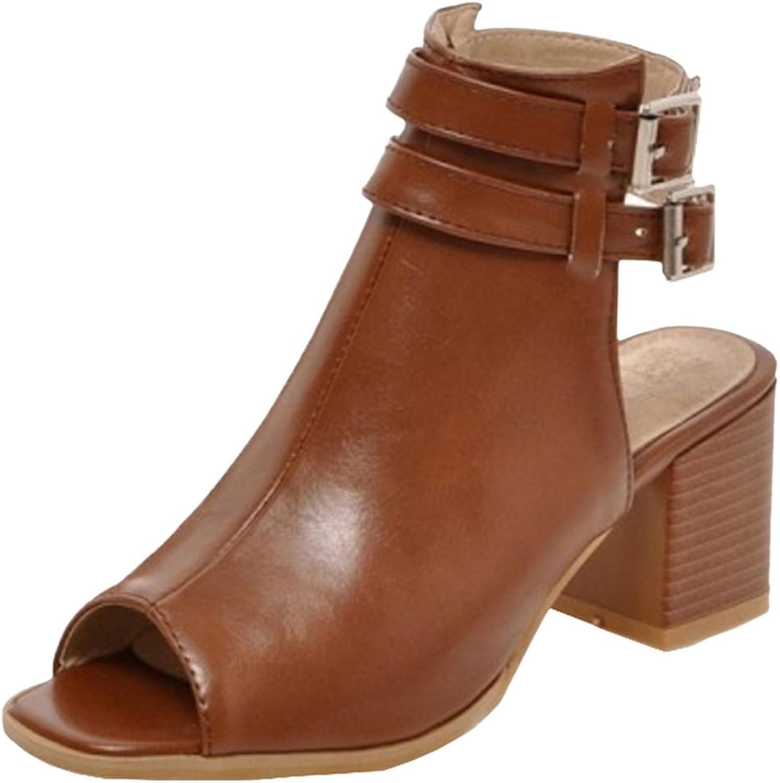 AicciAizzi Women Open Back Sandals shoes