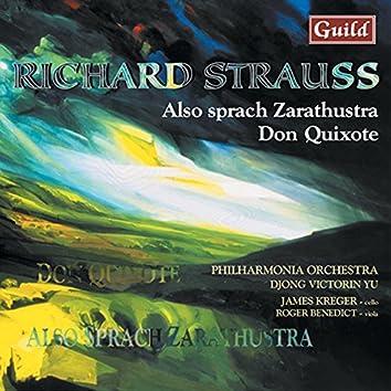 Strauss: Also Sprach Zarathustra, Op. 30, Don Quixote, Op. 35