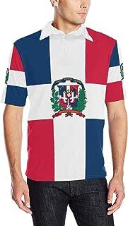 Dominican Republic Flag Men's Polo Shirt