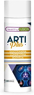 Glucosamina + Condroitina + Boswellia | Potente antiinflamatorio y analgésico | Elimina dolores musculares y articulares eficazmente | Protege y regenera articulaciones y cartílagos | 120 cápsulas