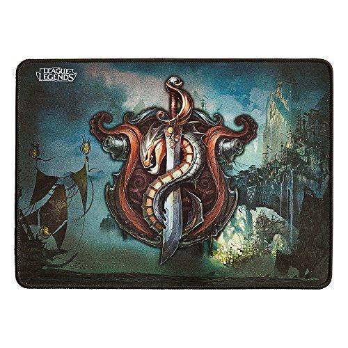 Riot Spiele Unisex League of Legends Offizielles Mousepad, bilgewater, Unisex, League of Legends Official Mousepad, grün/Gold
