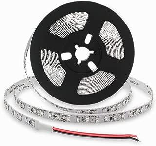 SMD3528-300-IR Infrared (940nm) Single Chip Flexible LED Strips LED Light Strip of DC12V 60LEDs 4.8w/m 16.4ft/Reel 8mm-Wide Non-Waterproof Infrared LED Light Supplement Strip Light