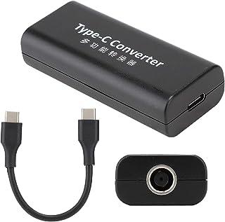 Okuyonic Adaptateur Femelle vers Type C, convertisseur d'alimentation Convertisseur d'alimentation pour Ordinateur Portabl...