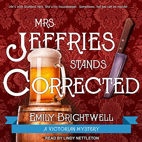 Mrs. Jeffries Stands Corrected audiobook cover art