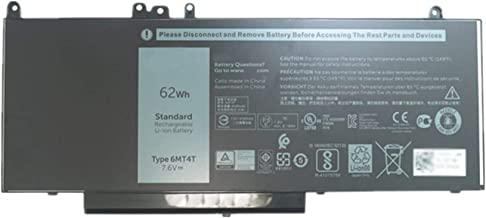 BOWEIRUI Replacement Laptop Battery for Dell 6MT4T (7.6V 62Wh 8000mAh) Latitude 14 5470 E5470 15 5570 E5570 Precision 15 3510 M3510 Series 7V69Y 79VRK 079VRK HK6DV 0HK6DV TXF9M 0TXF9M