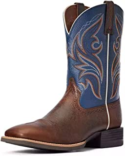 ARIAT حذاء رياضي طويل غربي ذو مقدمة مربعة واسعة للرجال - 10033981