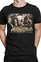 Get Down Art Men's Gangster's Playing Poker T-Shirt from Gda