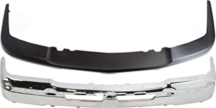 Sponsored Ad - Front Bumper Cover Compatible with 2003-2006 Chevrolet Silverado 1500 with Bumper Set of 2