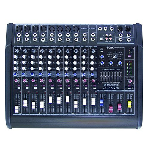 Omnitronic 10060200 LS-1222A Live-Power-Mixer